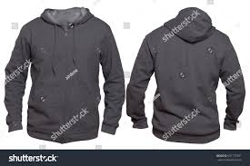 blank sweatshirt mock template front back stock photo 651777301
