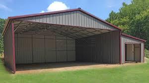 custom metal building prices utility steel carport enclosed