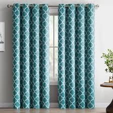 Grommet Drapes Patio Door Geometric Curtains U0026 Drapes You U0027ll Love Wayfair