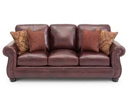 furniture red leather couches burgundy wall paint burgundy couch