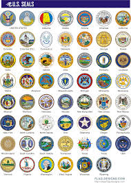 All The States Flags 50 States Clipart 44
