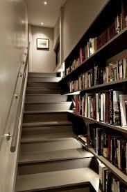 staircase shelves best 25 shelves under stairs ideas on pinterest