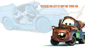 cartoon sports car side view this disturbing theory explains pixar u0027s cars