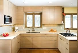 Modern Wooden Kitchen Cabinets Modern Kitchen With Oak Cabinet Modern Oak Cabinets Popular White