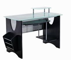 idabel dark brown wood modern desk with glass top brilliant design ergo stand up desk delicate l return desk stylish