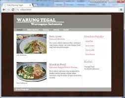 membuat web sederhana dengan javascript cara membuat website sederhana dengan html 5 webtutor