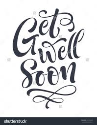 coloring pages get well soon vector text on color background
