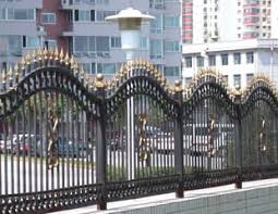 ornamental iron fences ornamental fences made of wrought iron