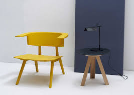 contemporary armchair wooden fly by ineke hans arco