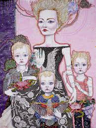 kathryn barton a portrait of cate archibald prize