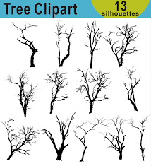 tree clipart tree silhouettes clipart halloween tree silhouettes