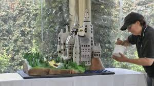 hogwarts castle wedding cake youtube