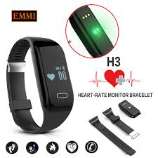 heart rate monitoring bracelet images New h3 smart band bracelet heart rate monitor activity fitness jpg