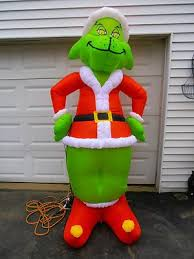 Blow Up Christmas Decorations Grinch by 44 Best Holiday Inflatables Images On Pinterest Christmas