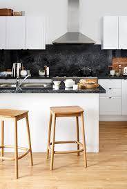 kitchen kaboodle furniture nougat truffle kitchen with soyanut benchtops kaboodle kitchen