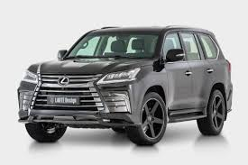 lexus large suv larte makes lexus lx570 even more aggressive
