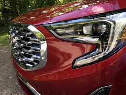 first drive redesigned 2018 gmc terrain carfax blog