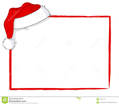 santa card royalty free stock image image 16457176