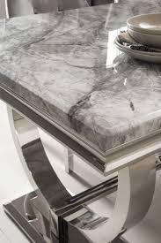 grey marble dining table buy vida living arianna grey marble dining table 200cm with