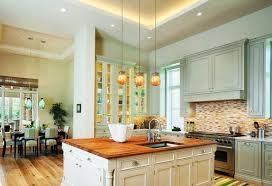 Mini Pendant Lights Over Kitchen Island Glamour Backsplash Ideas For Kitchens Modern Kitchen