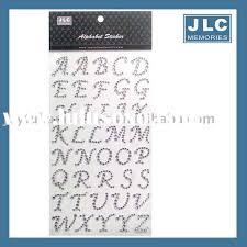 rhinestone letter stickers rhinestone alphabet stickers rhinestone alphabet stickers