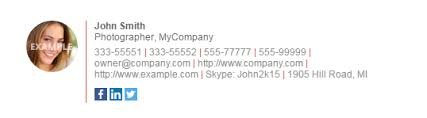 18 creative u0026 free email signature templates utemplates