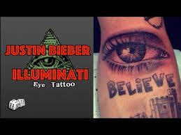 justin bieber s all seeing eye illuminati