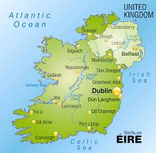 Blank Political Map by Ireland Map Blank Political Ireland Map With Cities