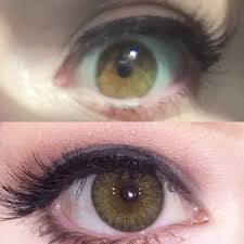 green halloween contacts
