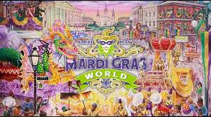 mardi gras by the free entry to blaine kern s mardi gras world with the new orleans