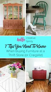 I Home Store by Buying Furniture At A Thrift Store Or Craigslist 7 Tips You