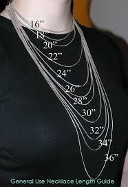 men necklace sizes images Necklace size chart for men tape to determine the finished jpg