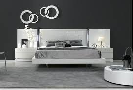 headboard with built in bedside tables headboard with lights built in made reptile leather patterned