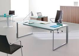 bureau en verre bureau en verre
