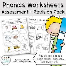 subjects english phonics worksheets u2013 assessment and