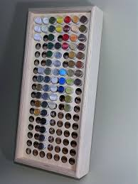 paint or ink storage rack stand holds 119 game color bottles