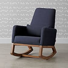 upholstered rocking chairs the land of nod