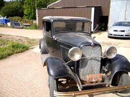 Barn Find Videos Genuine Original Old 32 Ford Barnfind First Run Out After Some