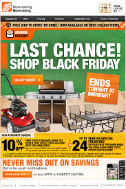 home depot pre black friday april eventful inbox summer emails start sizzling commerce