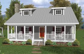 country house plans one level plan with open floor wrap around porch