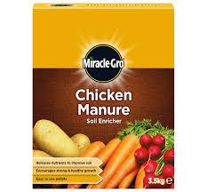 miracle gro chicken manure soil enricher love the garden
