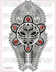 awesome taino tribal sun design me tribal