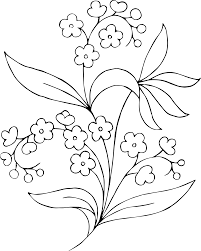 flowers black and white clipart free download clip art free