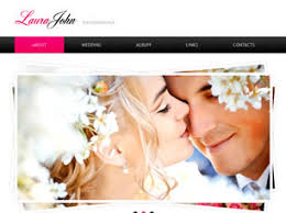 free wedding websites with free wedding website templates 18 free css