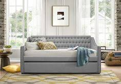 devyn tufted daybed cool cribs rh teen s devyn tufted daybed with trundle generous tufting on the