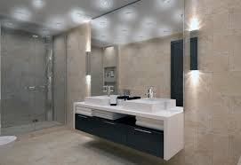 designer bathroom lighting fixtures of fine modern bathroom