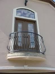 this custom balcony design was created using our fabricated