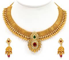 gold images necklace images Uncut choke with tremendous choker choker indian jewelry and jewel jpg