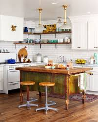 Kitchen Island Farm Table 240 Best Modern Country Farmhouse Kitchen Images On Pinterest