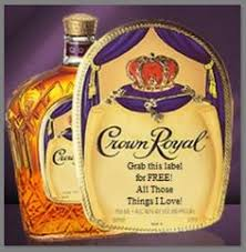 crown royal gift set set of 4 fabric crown royal coasters for the bar